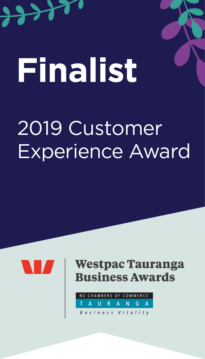 2019 Customer Experience Award Logo