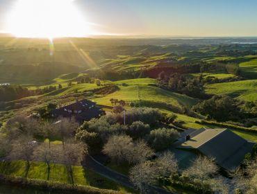 The Homestead Event and Wedding Venue, Eagle Ridge Country Estate, Farmland and sun